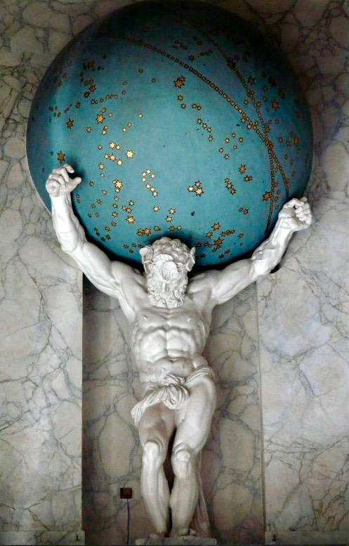 Atlas by Artus Quellinus (1)